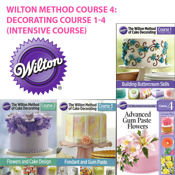 wilton method cake decorating course - Wilton Cake Decorating Classes