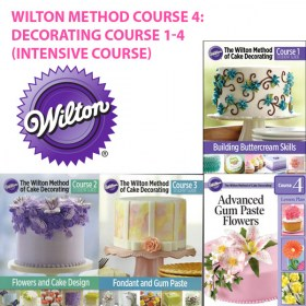 Wilton Cake Decorating Book Course 1 : Wilton Method Course 1: Decorating Basics