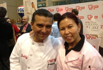 Rosalind & Buddy Valastro of Cake Boss.