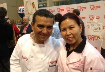 Rosalind & Buddy Valastro of Cake Boss.
